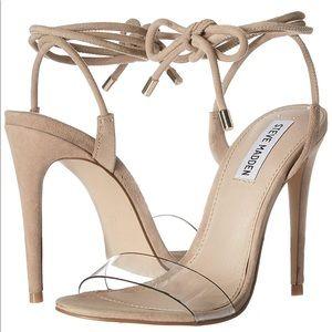 Steve Madden Lyla Dress Sandal suede/PVC